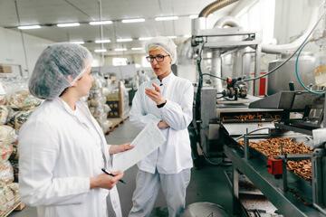 Contrôle dans une chaîne de production agro-alimentaire