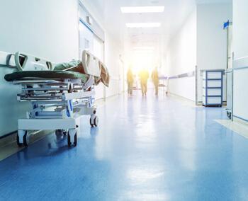 Murs et plafonds hôpital