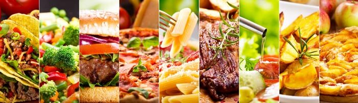 Types de repas restaurant