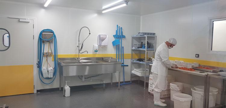 Lisse de protection PEHD HACCP