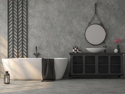 exemple de rénovation d'un carrelage de salle de bain