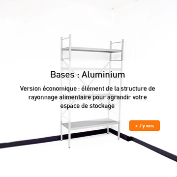 Base Alu - Inox