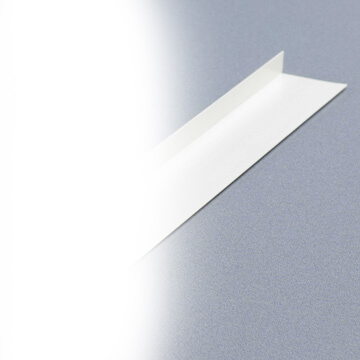 Corniere PVC asymetrique