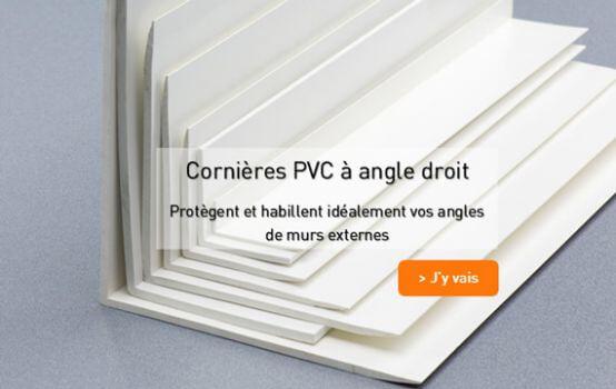 Cornieres PVC rigide