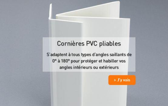 Cornieres PVC pliable