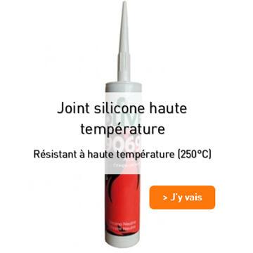 Joint silicone haute température