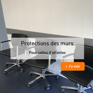 Protection PEHD Salle d'attente
