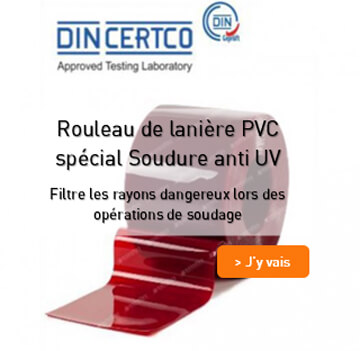 Rouleau special soudure anti UV