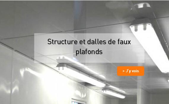 Faux plafond suspendu PVC