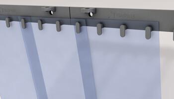 Tout savoir sur les rideaux à lanières PVC