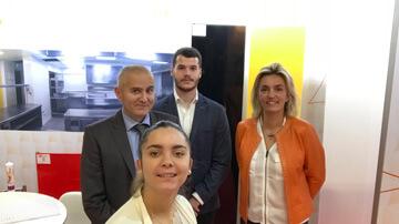 L'équipe Nelinkia sur EQUIPHOTEL 2018