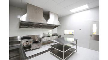 Renovation plafond laboratoire alimentaire