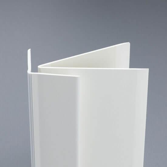 Cornières PVC à angle variable