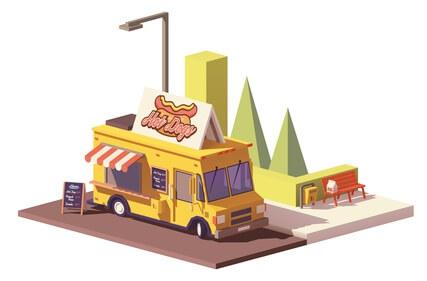 Illustration Food Truck