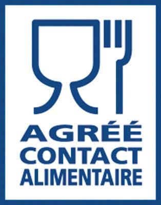 Logo agrément contact alimentaire
