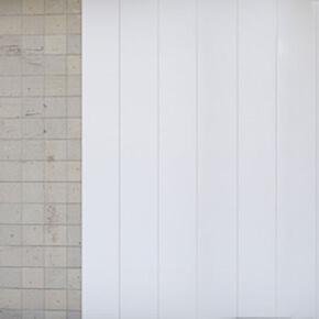 Lambris PVC sur carrelage endommagé