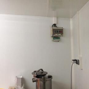 Revetement plaque PVC murs lisses agroalimentaire