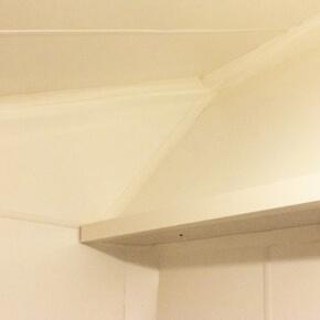 Revetements murs tres irreguliers plaques PVC agroalimentaire